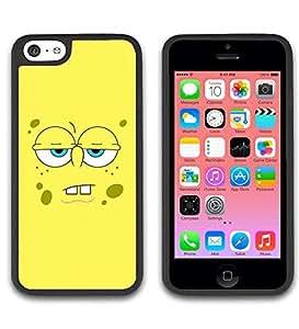 Iphone 5c Funda Funda Case Cute SpongeBob SquarePants Print Pattern Hard Back Shell Protector for Boys Snap on Iphone 5c