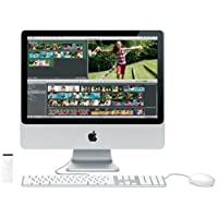 Apple MA877 iMac 50,8 cm (20 Zoll) Desktop-PC (Intel Core 2 Duo 2,4 GHz, 1GB RAM, 320 GB HDD, DVD+- DL RW, ATI Radeon HD 2600 Pro)