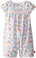 Zutano Baby Girls' Piccolina Cap Sleeve Bodysuit