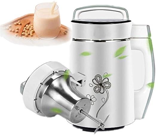 DAETNG Máquina para Hacer Sopa automática - Fría o Caliente 6 en 1 más Leche de Soja, arroz con Cereales Más - 4 Cuchillas, Tacto frío, Acero Inoxidable Duradero con función Limpieza automática: Amazon.es