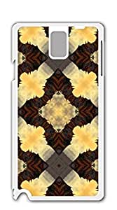 TUTU158600 Hard Snap on Phone Case galaxy note3 Shell - Brown Figure