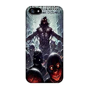 Anti-Scratch Hard Phone Case For Iphone 5/5s With Allow Personal Design Beautiful Disturbed Image KennethKaczmarek