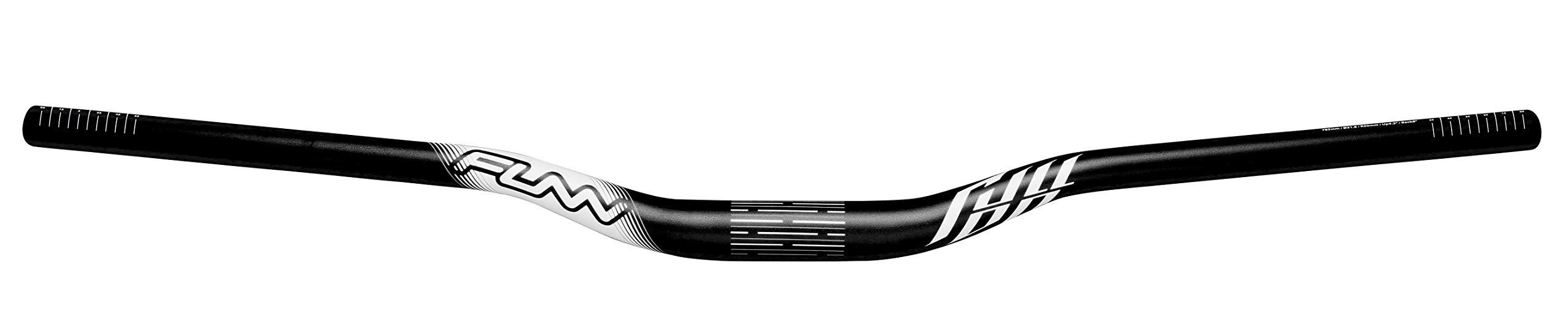 Full On MTB Handlebar, Bar Clamp 31.8mm, Width 785mm (Rise 30mm, Black) by Funn