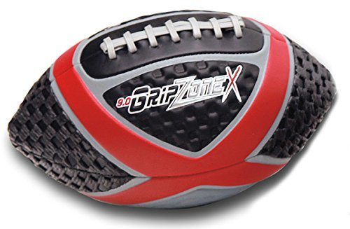 Fun Gripper Football (Fun Gripper Grip Zone (X) Football 9.0 Red, Youth Size By: Saturnian I)