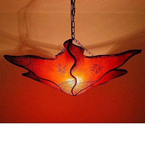 Marrakesch durdana - Piel techo lámpara estilo árabe, color ...