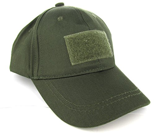Trooper Clothing Kids 6 Panel Tactical Cap,OD Green, OD Green, One Size 9400- O/S