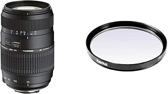 Tamron A17NII - Objetivo para Nikon (70-300mm, f/4-5.6, Macro, AF ...