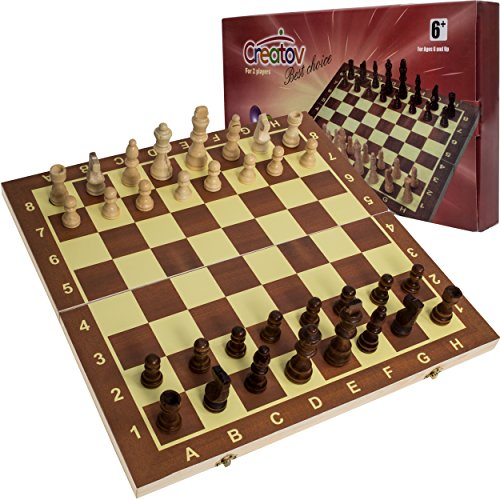 Review Classic Wooden Chess Set
