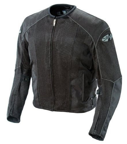Joe Rocket Phoenix 5.0 Men's Mesh Motorcycle Riding Jacket (Black/Black, X-Large Tall)