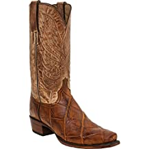 Lucchese Men's HL1027.73 Rex Alligator Western Boot Square Toe, Size 11