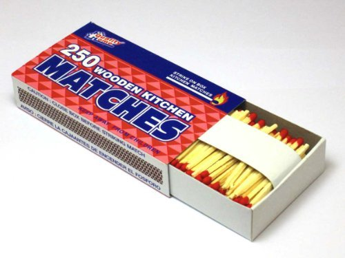 20 Packs Large Matches 5000 Total count Strike on Box Wholesale Bulk Lot ()