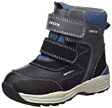 Geox Boys' New Gulp Abx 1 Ankle Boot, Dark Grey/Avio, 24 M EU Toddler (8 US)