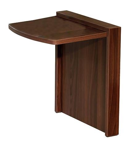 Merveilleux Tuc Away Tables MTC 2129 BRN Folding End Table, Walnut