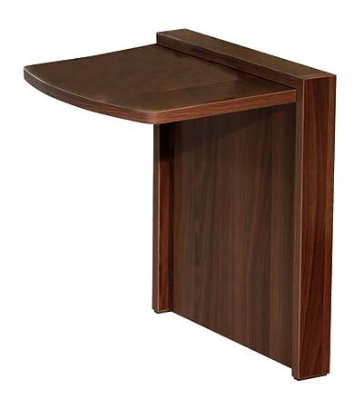 Tuc-Away Tables MTC-2129-BRN Folding End Table, Walnut