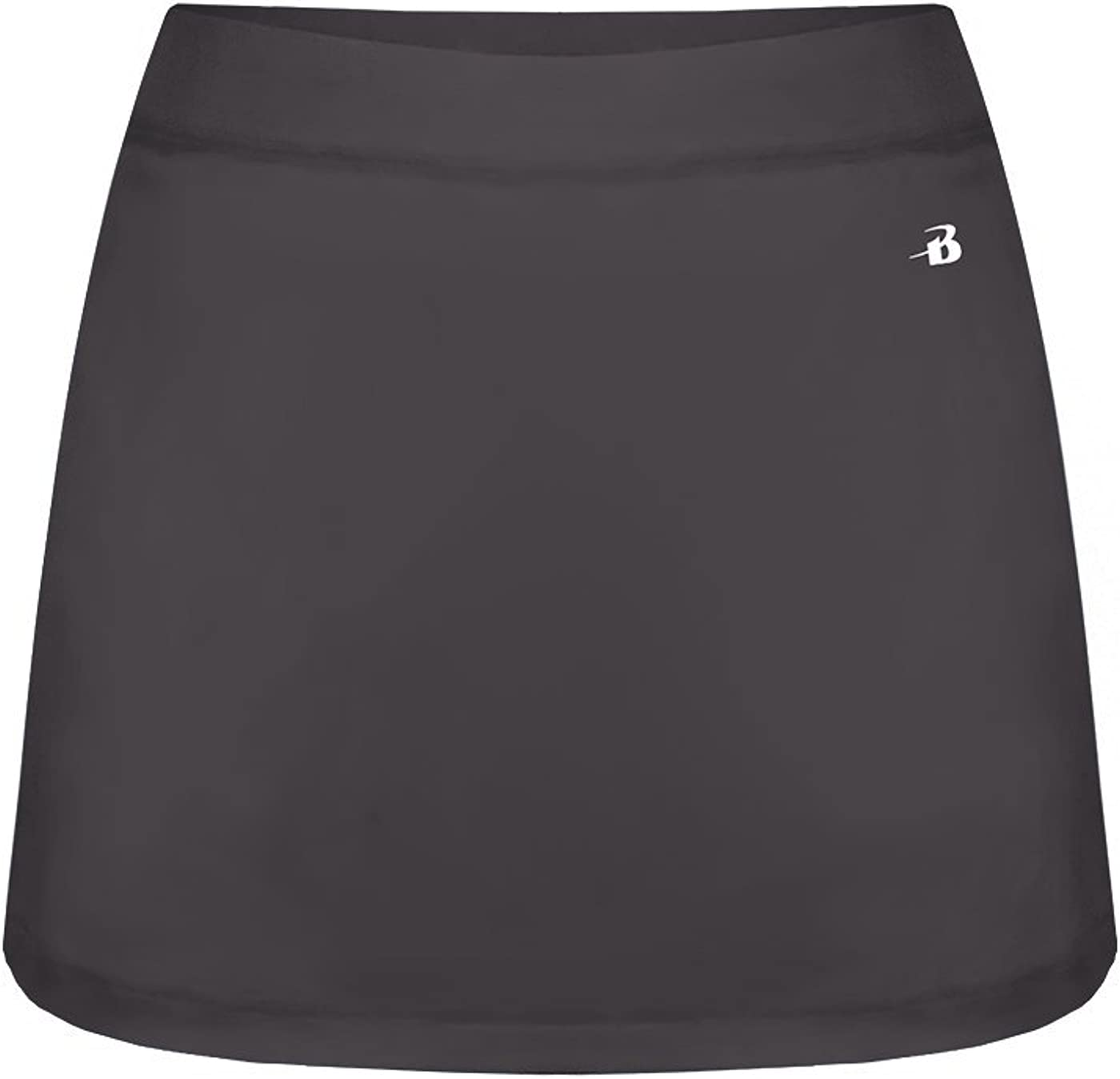 Womens Skort Athletic Wicking Performance with Inner Short /& Triangle Gusset