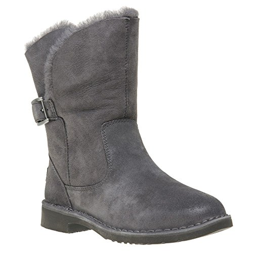 UGG Womens Jannika Boot Charcoal Size 6 (Ugg Height Boot Shaft)