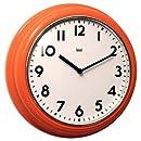 Bai School Wall Clock, Orange