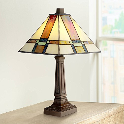 Morris Mission Accent Table Lamp 14 1/4