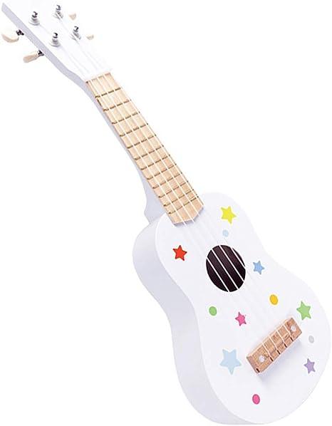 QPPWJ- para Principiantes Niños Colores Pequeña Guitarra para ...
