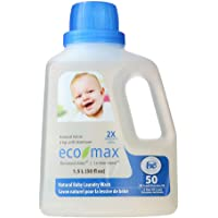 Eco Max Laundry Products-2X Conc. Natural Baby Laundry Wash , 1.5 Litre