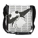 Dab Panda Hip Hop Fashion Print Diagonal Single Shoulder Bag