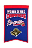 MLB Atlanta Braves WS Champions Banner, One Size