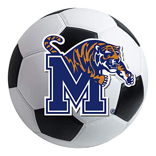 - FANMATS NCAA University of Memphis Tigers Nylon Face Soccer Ball Rug