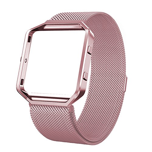 Fitbit Blaze Bands with Frame Metal Small Large (...