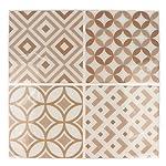 Artemio 4fogli mosaico beige autocollante, Multicolore, 4quadretti di 12,5x 12,5cm