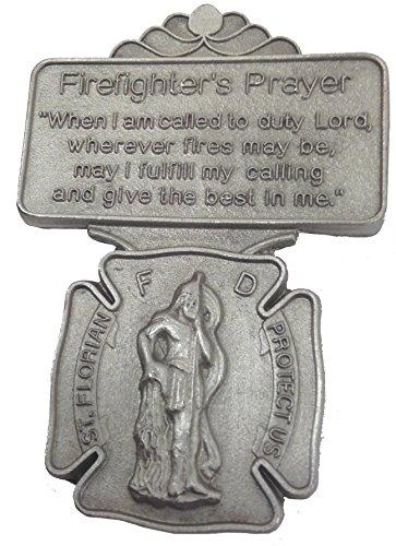 - St. Florian Firefighter Prayer Visor Clip