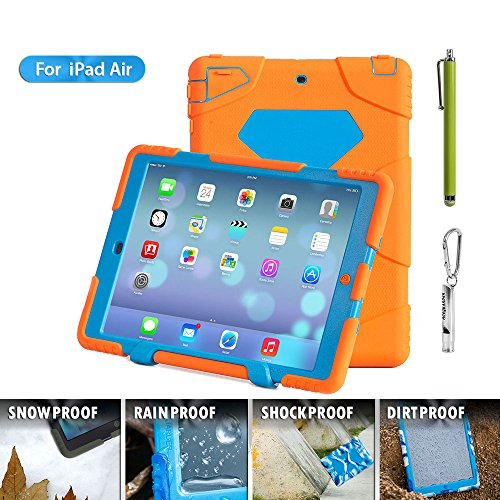 Aceguarder Waterproof Shockproof Protection Orange blue