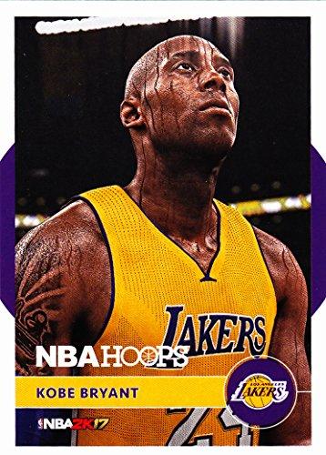 2016-17 PANINI NBA HOOPS KOBE BRYANT NBA 2K17