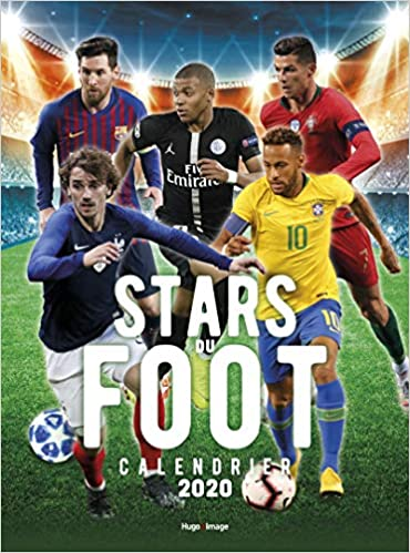 Amazon Fr Calendrier Mural Stars Du Foot 2020 Hugo Image