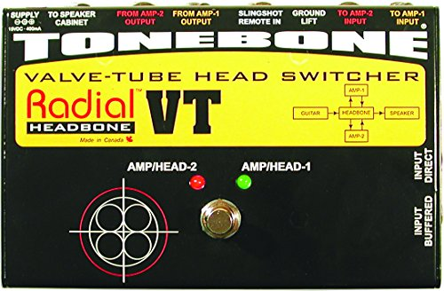 Radial Headbone VT Amp Head Switcher for Tube Amps