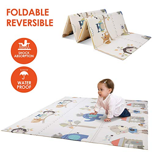 POTBY Foldable Baby Play Mat, 79