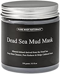 Contains (1) 8.8 ounce jar of dead sea mud maskSimply formulated using high quality natural ingredients like mineral dead sea mud from Israel, shea butter + essential oils