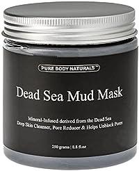 Pure Body Naturals Dead Sea Mud Mask for...
