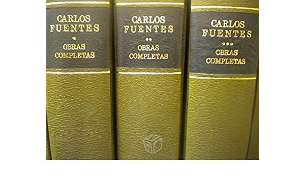 Complete (three) AGUILAR: Carlos Fuentes: 9789681900571: Amazon.com: Books