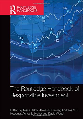 The Routledge Handbook Of Responsible Investment  Routledge Companions In Business  Management And Accounting