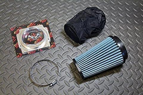 K&N style air filter & billet PRO FLOW adapter & outerwear Yamaha Banshee 87-06 - Yamaha Banshee Stock