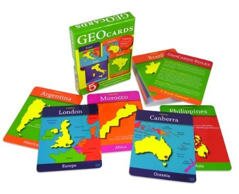 - GeoCards World - Educational Geography Card Game - Learn As You Play! Excellent For Ages 4 and Up!