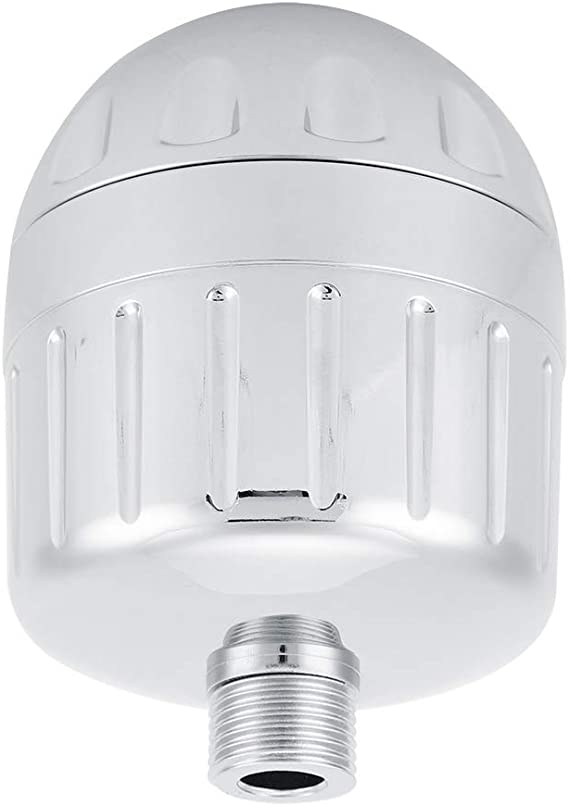 Famus Purificador de Agua para baño doméstico, Filtro de Ducha de baño para el baño en casa (G1 / 2