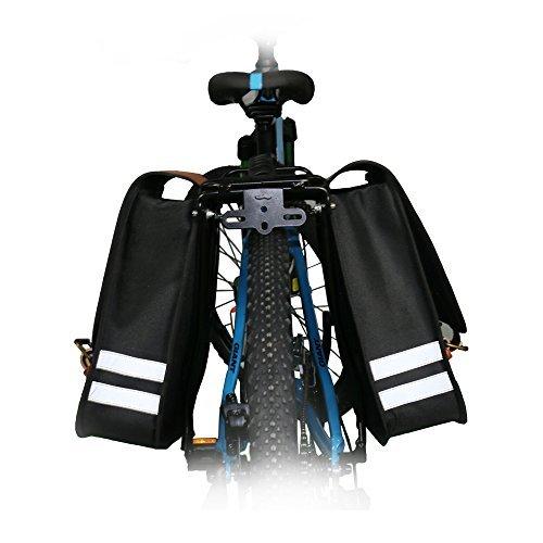 Travellor Wasserdicht Multi-Funktion Fahrrad hinten Sitz Trunk Beiden Seite Tasche Fahrradtasche Fahrrad Satteltasche Bike Travel Große Tasche