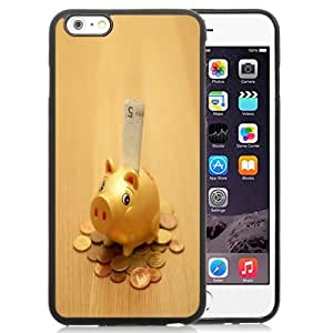 New Personalized Custom Designed For iPhone 6 Plus 5.5 Inch Phone Case For Cute Piggy Bank Phone Case Cover