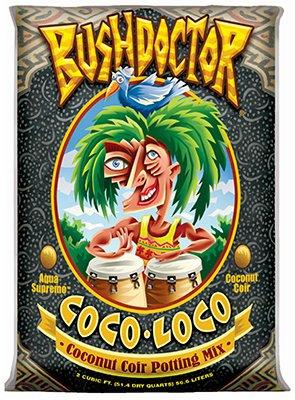 Brown Soil - Fox Farm FX14100 Coco Loco Potting Mix, 2 Cubic Feet, Brown/A