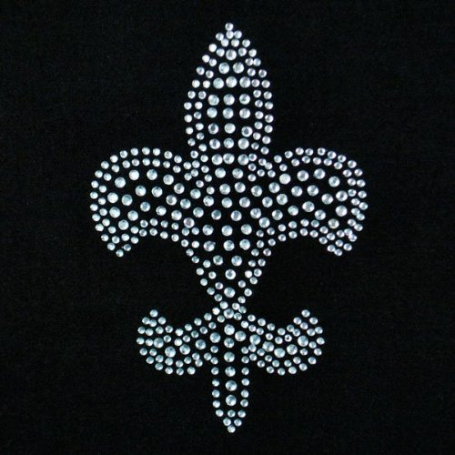 Expo RT1000 Iron-on Rhinestone Transfer Fleur de Lis