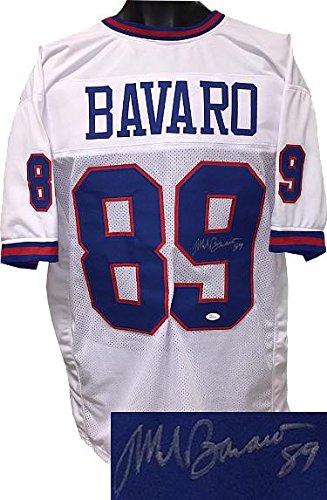 5bef26b15a7 Mark Bavaro Autographed Jersey - White TB Custom Stitched Pro Style  89  Hologram - JSA