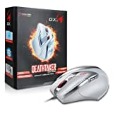 Genius GX-Gaming DeathTaker 9 Button Gaming Mouse White Edition (DeathTaker White Edition)