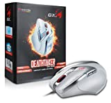 Best Anchor Gaming PCs - Genius GX-Gaming DeathTaker 9 Button Gaming Mouse White Review