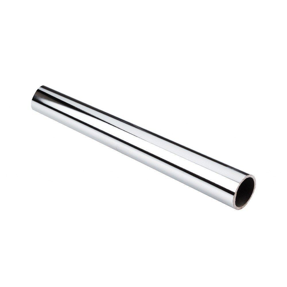 6 PACK Heavy Duty Metal 144'' (12 foot) Long Round Aluminum Closet Rods, Chrome by Rods/Brackets